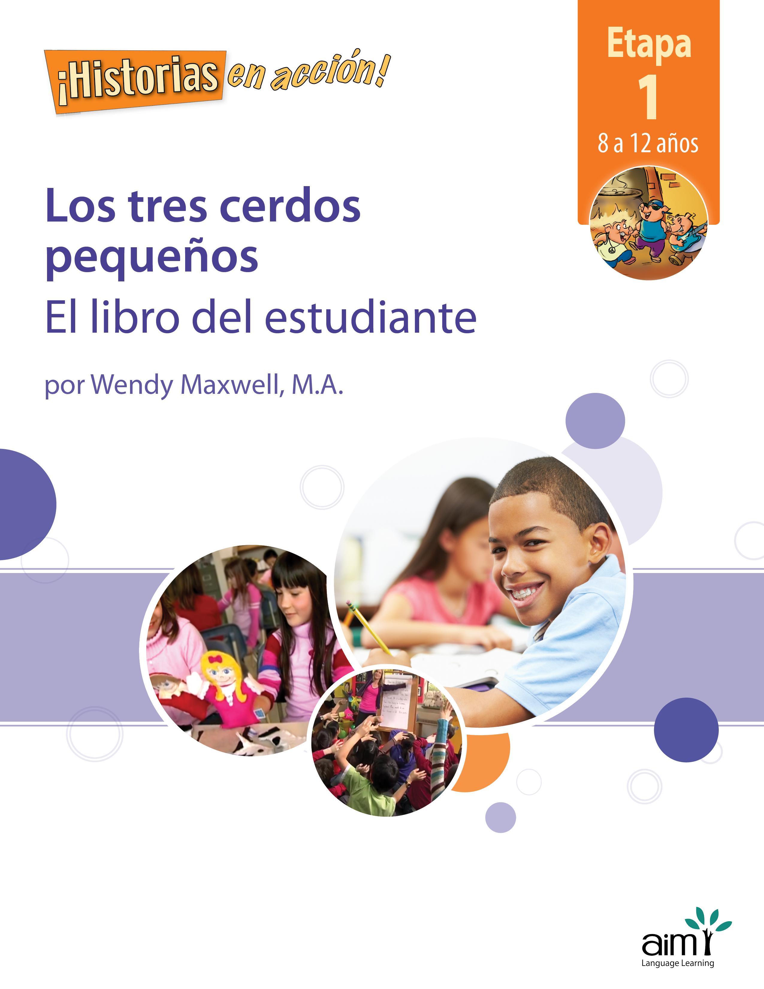 20950 SHEA 1A LOS TRES CERDOS PEQUEÑOS Student Book Cover_Prev